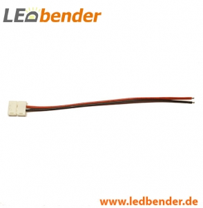 LED Adapter mit Verbindungskabel Strip / offenes Kabelende 8mm 4,8W